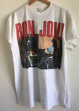 Vintage Bon Jovi 1989 Taking It To The Streets Tour Tee Captain Kidd Designs