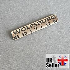 Wolfsburg Edition Badge For VW Emblem Chrome Golf Sticker Passat Jetta TDI GTI