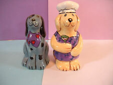 Chef Dogs Salt and Pepper Shakers
