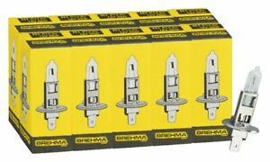 10x BREHMA Germany H1 Classic Halogen headlight bulb 12V 55W Globes car bulbs