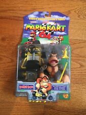 "2000 Toy Biz Mario Kart 64 ""DONKEY KONG"" Sealed Nintendo Video Game Superstars"