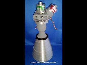 Apollo 11 Lunar Module Attitude Engine (RCS) R-4D Model Kit - Full Scale!