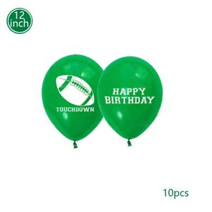 5/10Pcs12 Inch Rugby Theme Latex Balloon Birthday Party Celebration Decoration