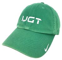 Nike Cap International Junior Golf Tour Hat IJGT Baseball Green Adjustable NWT
