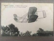 CPA- AVIATION - Biplan de Wilburg WRIGHT  - RARE