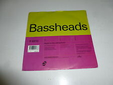 "BASSHEADS - Back To The Old School - Deleted 1992 UK 2-track 7"" Vinyl Single"