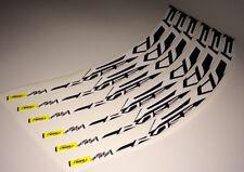 2014 Mavic Crossride Disc Ruota Decalcomanie Adesivi Etichetta klistremerker per 26 in (ca. 66.04 cm)