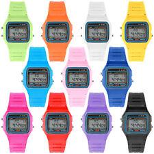Digitale Silikon Uhr Retro Vintage 80er Jahre Armbanduhr mit vielen Funktionen