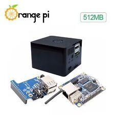0486 - 3-in-1 Orange Pi Zero 512MB Development Board + Expansion Board + Black