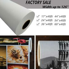 60x40 Waterproof Polyester Inkjet Canvas Roll Matte For Epson Hp Canon Printer