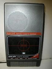 Vintage Gran Prix Slimline Cassette Recorder tested & works