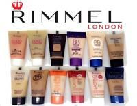 RIMMEL FOUNDATION TRAVEL / SAMPLE HALF SIZE 15ML NEW UNSEALED CHOOSE COLOUR