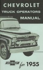 Chevrolet 1955 Truck Owner's Manual-2nd Series 55