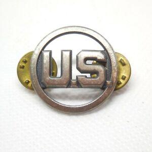 USAF Air Force U.S. Collar Insignia 4 Pieces