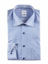Olymp Textured Button Cuff Formal Shirts for Men