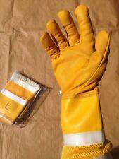 S M L XL Imker Bienen Imkerhandschuhe Lederhandschuhe Handschuhe Schutzkleidung