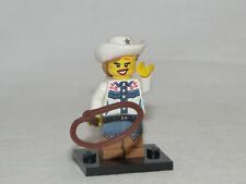 Lego Minifiguren Serie 8 - Cowgirl komplett Figur