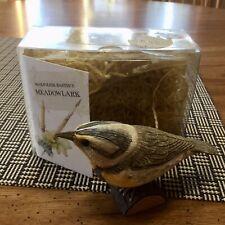 Hallmark Marjolein Bastin's Birds At My Window Meadow Lark In Box