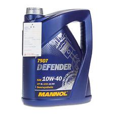 5 Liter MANNOL 10W-40 Defender Motoröl API SL, MB 229.1, VW 501.01/505.00