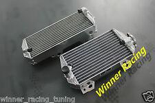 L&R aluminum radiator fit Suzuki RMZ450 2008-2017;RMX450 09-10 polished Braced
