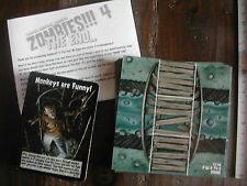 30 MAP TILES+50 EVENT CARDS + ENGLISH RULES / PIECES/PARTS ZOMBIES !!! 4 THE END