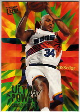 1995-96 ULTRA POWER INSERT: CHARLES BARKLEY #1 SIXERS/SUNS/ROCKETS ALL-STAR/MVP