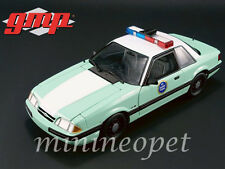 GMP 18845 1988 FORD MUSTANG US BORDER PATROL SSP 1/18 DIECAST MODEL CAR GREEN