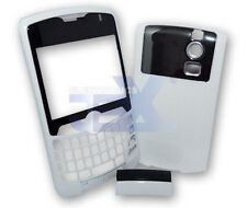 Verizon/Sprint Blackberry Curve 8330 White Housing Case Cover Front/Back/Clip