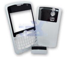 Verizon/Sprint Blackberry Curve 8330 White Housing Case Cover Front/Back/Clip
