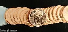 2013 (20) Standing Liberty 1Oz Round .999 Copper Proof Like Fast Ship New Desig