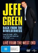 Jeff Green: Back From The Bewilderness (DVD, Region 4) - Brand New, Sealed