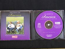 America. The Best Of America. Compact Disc. 1996. Made In The E.U.