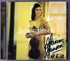 Janine Jansen signé Vivaldi Quatre saisons Four Seasons CD Julian Rachlin
