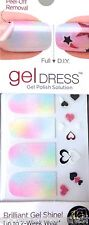 Kiss Nail Gel Dress Gel Polish Solution Gel Strips # 60466 Rise & Shine Pastels