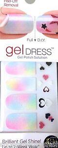 Kiss Nail Gel Dress Gel Polish Solution Gel Strips # 60466 Rise & Shine Pastels