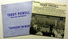 TEDDY POWELL lot of 2 LPs JAZZ Swing