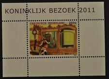 CARIBISCH NED. 2011  SHEET ++ KONINGIN BEATRIX  ++  MNH POSTFRIS **