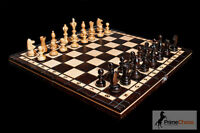 Prime Chess Hand Crafted Cherry Wooden Chess Set 35cm x 35cm