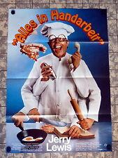 JERRY LEWIS * ALLES IN HANDARBEIT - A1-Filmposter - German 1-Sheet  USA1979