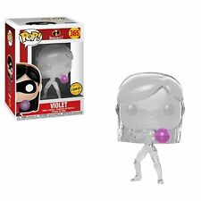 Funko Pop Disney Incredibles 2 Violet Chase with FREE Pop Protector #365
