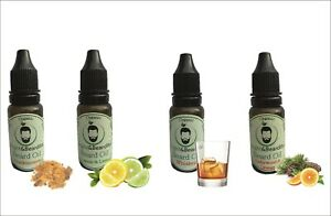 4 Pack Beard Oil for Conditioning & Growth, Thicker & Softer Beard 4x15ml SAVE