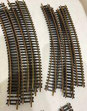 "15 Atlas,TYCO , AHM 18"" RADIUS HO Scale Snap Brass Curve Tracks G7 AUSTRIA"