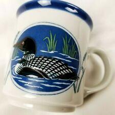 Otagiri Mug Cup Loon Duck Japan Coffee Beverage Lodge Minnesota State Bird