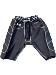 Under Armour Boy's YLG Padded Compression MPZ 1 Sliding Shorts ~Black~