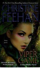 Christine Feehan  Viper Game   Ghostwalker  Paranormal Romance   Pbk NEW Book