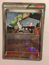 Pokemon Card / Carte Trainer's N Promo Holo 218/BW-P