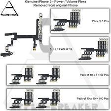 Genuine Apple iPhone 5 Power Volume Button Mute Flex Cables Replacement Part
