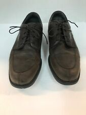 Footjoy Dryjoys Optiflex Brown Leather Golf Shoes mens size 11 M Spikes