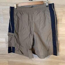 NIKE Men's LARGE Board Short Cargo Mesh Lined Swim Trunks w/ Pockets