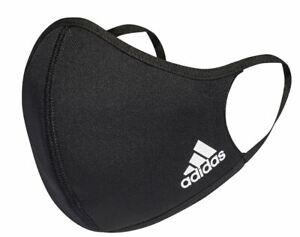 Adidas Face Mask Medium/Large  - Authentic Adult Black Face Mask